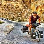 Dad bikes 17,000 km via Armenia, Thailand to watch son in Olympics