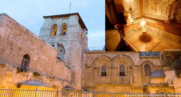 Jerusalem's Holy Sepulchre church shut