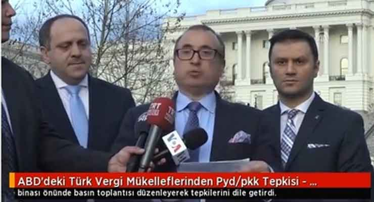 Erdogan Allies Lobbied Congress Against Kurds