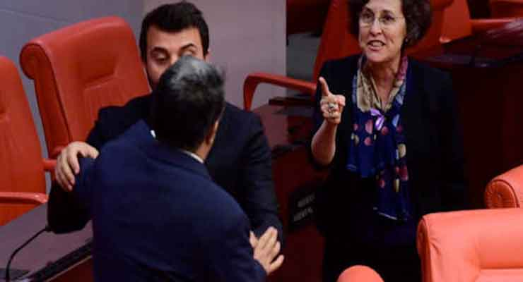 Garo Paylan attacked by ruling-AKP MPs in Turkish Parliament