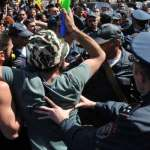 Armenia 43 detained in 2 hours of Saturday protests