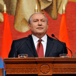 """Armenian President Armen Sargsyan has issued a statement. """"accusing diaspora not to worsen the situation"""""""