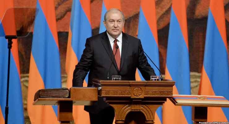 New Armenian President Sworn In