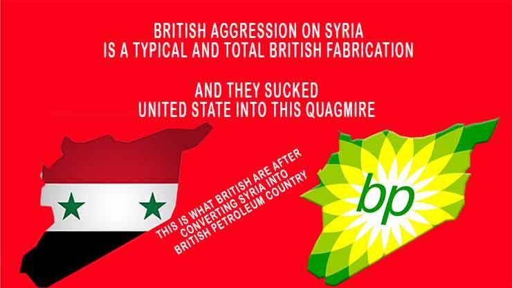 Us Uk France Launch Strikes On Syrian Uk Fabricated Chemical