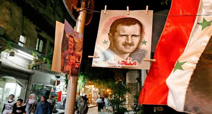 Christians love Assad