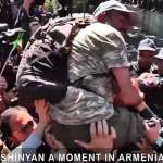 Armenian protesters keep up pressure as ex-president Serjik Sargsyan turns new prime minister