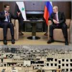 Syria's Bashar Assad makes unexpected trip to Russia to meet Vladimir Putin