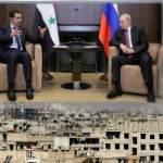 Syria's Bashar Assad makes unexpected trip to Russia to meet Vladimir Putin
