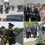 Italian president pays tribute to Armenian Genocide victims in Yerevan