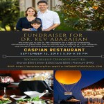 Kev Abazajian for Irvine City Council Fundraiser at Caspian Restaurant