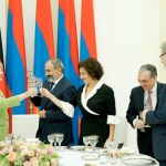 Armenia PM gives official dinner in honor of visiting Angela Merkel
