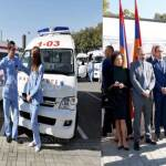 Armenia ambulance-upgrading program from China launched