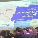 Map of Armenia displayed in Germany causes ruckus in Turkish media