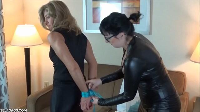 Dakkota Grey tied up by Irene Adller