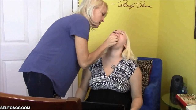 Mom pantygags her daughter