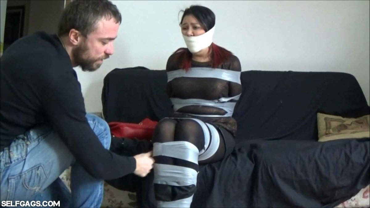 Help! My Boyfriend Is A Bondage Producer And He's Got Me Tied Up And Gagged Against My Will!