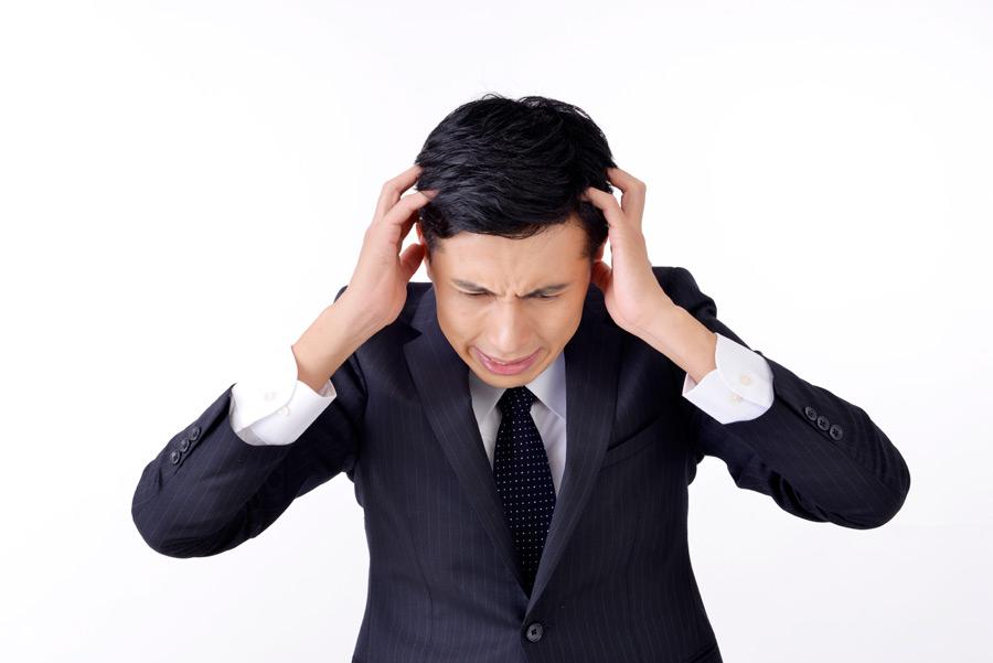 「頭を抱える サラリーマン」の画像検索結果