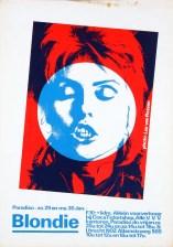 paradiso poster, Martin Kaye, Blondie