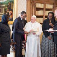 Kagame i Vatikani:  Iyo umugabo yasumbirijwe asubira ku cyo yangana !