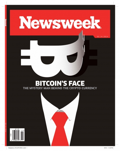 The cover of Newsweek's return to print