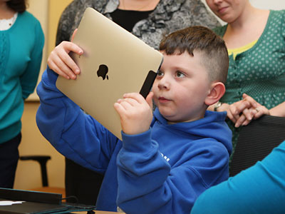 Ten percent of households with children aged 6-12 and pre-schoolers have iPads, according to Ipsos.
