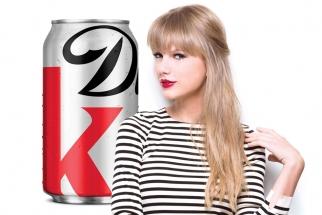 coke, coke brand ambassador, taylor swift, soke endorser