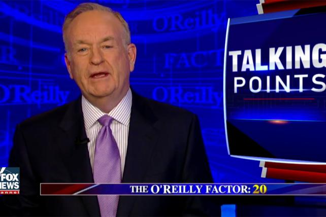'The O'Reilly Factor' Had Seven Advertisers Thursday Night ...