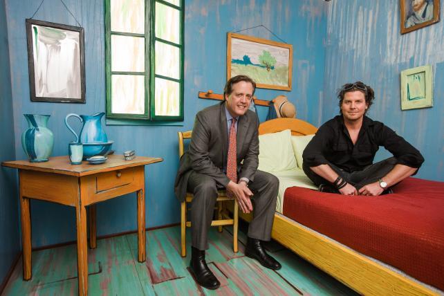 art institute of chicago recreate van gogh bedroom | from
