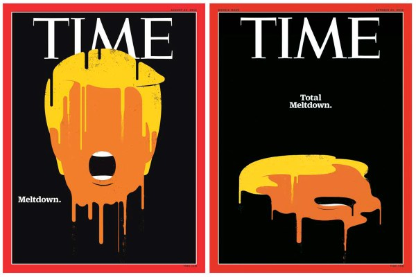 Time Updates Its Trump 'Meltdown' Cover to 'Total Meltdown ...