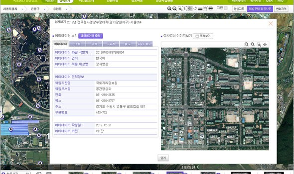 Land Geographical Image Information Service