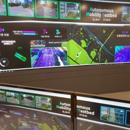 Seoul C-ITS Autonomous Vehicles Control Center