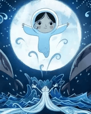 Song of the Sea - Saoirse with Moon