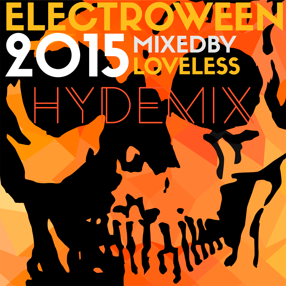 ELECTROWEEN 2015 - Hyde Mix Artwork