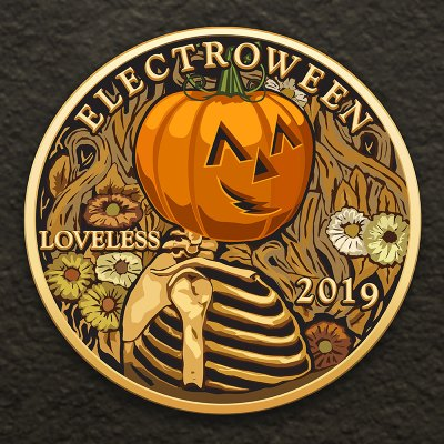 ELECTROWEEN 2019 - VII's Decade Celebration Mix Cover Art