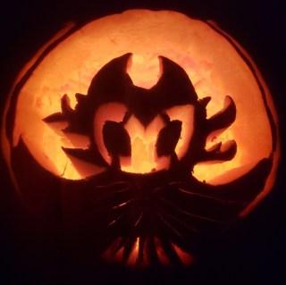 Scott's Nightmare King Grimm Pumpkin