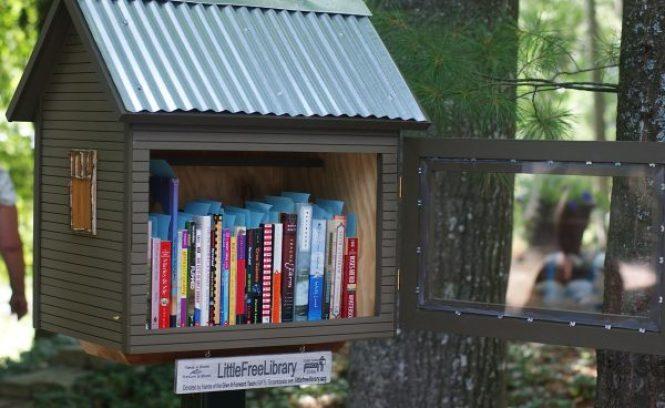 Küçük Ücretsiz Kütüphaneler 3