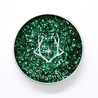Serpent green biodegradable glitter - deep green