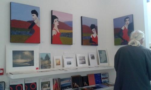 Karen Billing's paintings at the Uillinn, Skibbereen