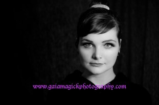 Gaia Magick Photography, Comox Valley, Old Hollywood Glamour portraits, Audrey Hepburn inspired photos, Chrystal Rossler, Valentine Gifts for him, feel good about yourself