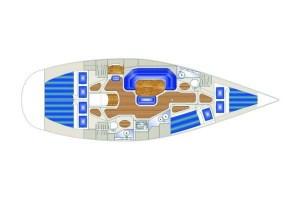 Dispozice lodě Gaia