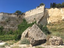 Pevnost v Koroni poničená zemětřesením