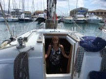 Radky v Lefkada marině