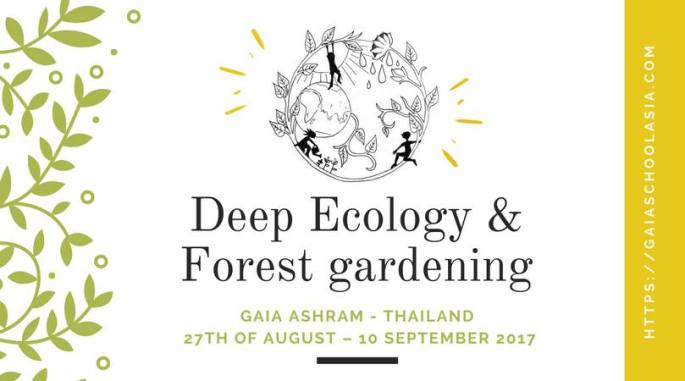 Deep Ecology & Forest Gardening Flyer