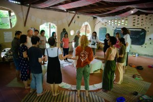 ecovillage design education course gaia ashram