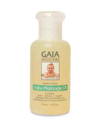 Buy Gaia Skin Naturals Sweet Almond Baby Massage Oil