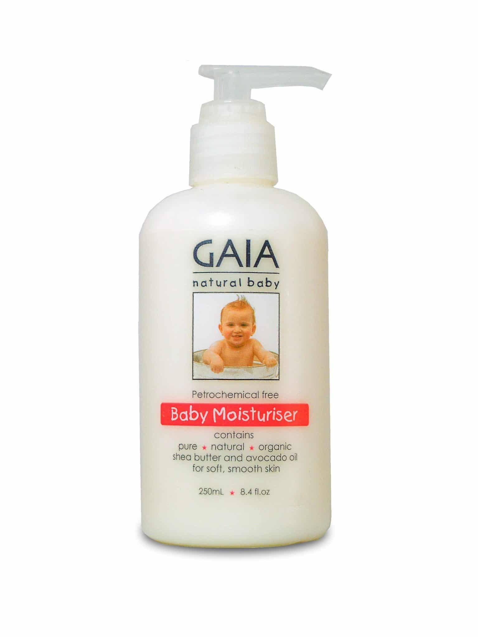 Natural Baby Moisturiser - Gaia Naturals
