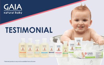 Gaia natural baby moisturiser Review