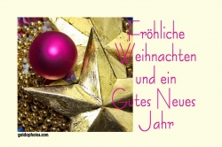Frohe Weihnachten gutes Neues Jahr