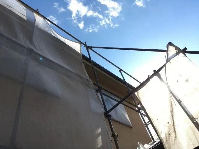 外壁塗装の足場の種類とは?