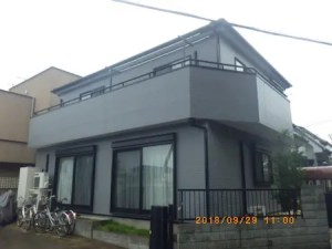 K様邸(埼玉県 越谷市 七左町)外壁塗装施工事例